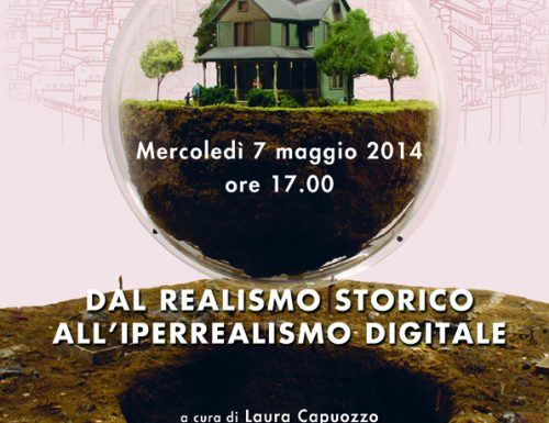 "Seminario  ""DAL REALISMO STORICO ALL'IPERREALISMO DIGITALE"""