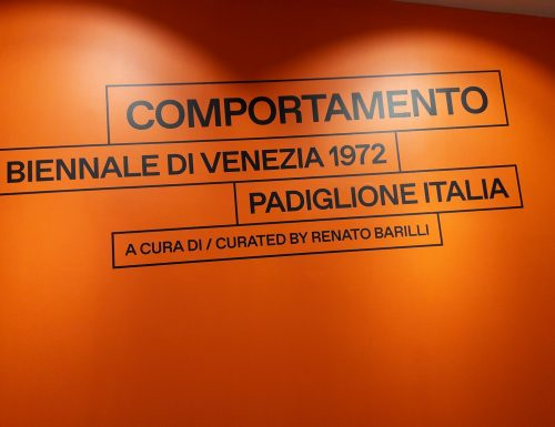 COMPORTAMENTO – PADIGLIONE ITALIA, BIENNALE DI VENEZIA 1972  – CENTRO PER L'ARTE CONTEMPORANEA LUIGI PECCI, PRATO